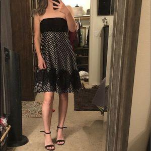 Sue Wong strapless dress